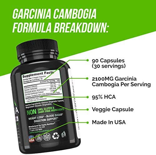 Garcinia Cambogia Extract Capsules & Apple Cider Vinegar Gummies - Appetite Suppressant & Carb Blocker - Formulated for Weight Loss, Energy Boost & Gut Health - Supports Digestion, Detox & Cleansing 8
