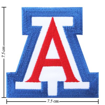 Arizona Wildcats Type-1 Embroidered Iron On Patch