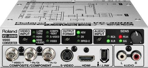 Roland Audio/Video Converter / AV Streaming Interface VC-30HD (Hdv Deck)