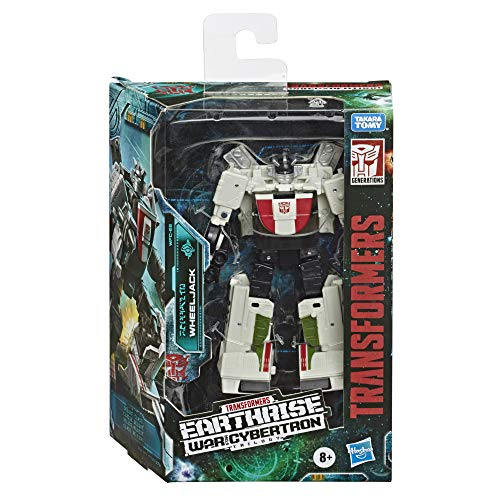 Transformers Toys Generations War for Cybertron: Earthrise Deluxe Wfc-E6 Wheeljack Action Figure - Kids Ages 8 & Up, 5