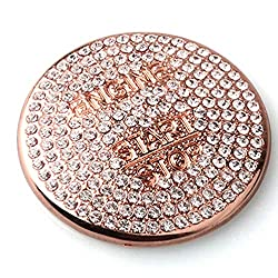 Rose Gold Crystal Mercedes Ignition Button Sticker