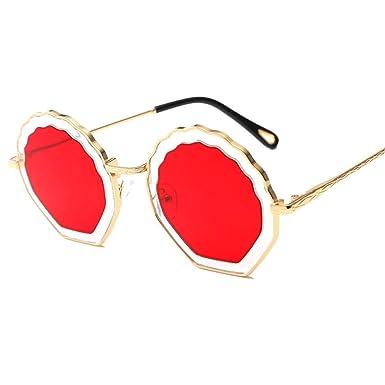 zxldsjhd Gafas Modelos femeninos Señoras Gafas de sol de ...