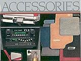 1986 Toyota Accessories Brochure MR2 Supra Celica Camry
