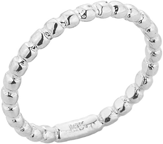Silver Cross Toe Ring Sterling Silver Bead Toe Ring Big Toe Ring Little Toe Ring Stackable toe Ring Stretchy Sterling Silver BuyAny3+1Free