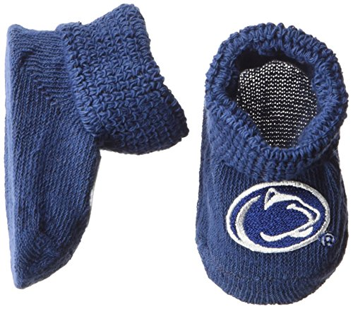 (Two Feet Ahead NCAA Penn State Nittany Lions Infant Gift Box Booties, One Size,)