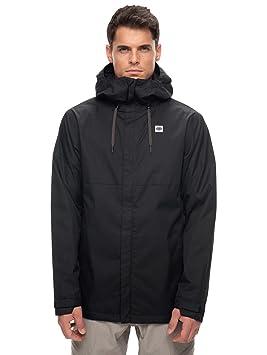 Hombre Snowboard Chaqueta 686 Foundation Chaqueta, Hombre, Color Negro, tamaño Extra-Large: Amazon.es: Deportes y aire libre