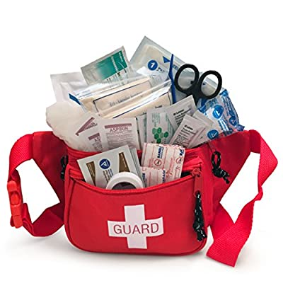 Primacare KB-8005 First Aid Fanny Pack - First Aid Kit Stocked with Supplies by Primacare Medical Supplies