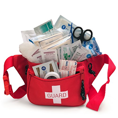Primacare KB-8005 First Aid Fanny Pack - First Aid Kit Stocked with Supplies ()