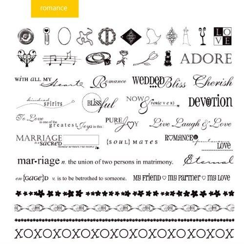 (Xyron Romance Themed Design Disc for Xyron Design Runner)