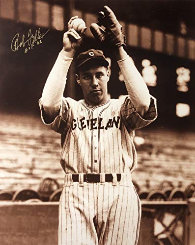 Bob Feller Cleveland Indians 16-6 16x20 Autographed Photo - Certified Authentic