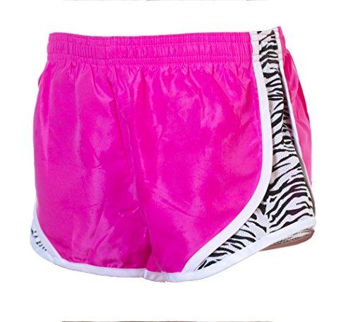Shorts Momentum Zebra EMC Sports Pink Neon 5UxwnREpq1