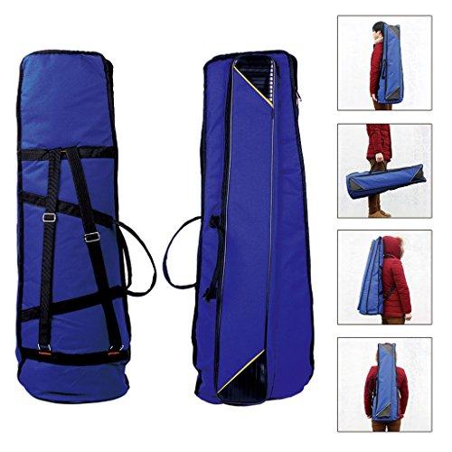 Jili Online Oxford Fabric Shoulder Bag Tenor Trombone Stage Bag for Trombonist Blue by Jili Online (Image #5)'
