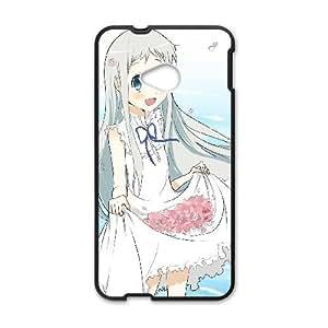 HTC One M7 Phone Case Cover Black anohana 08 EUA15966540 Make Phone Cases