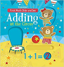 amazon slide and see adding at the circus first maths slide and