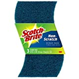 3M (97223-3-12) Greener Clean Non-Scratch Scour Pads 97223-3-12 [You are purchasing the Min order quantity which is 1 Case]