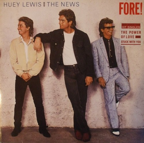 Price comparison product image Huey Lewis & The News - Fore! - Chrysalis - 207 897-630