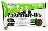 Newman's Own Organics - Newman-O's Creme Filled Chocolate Cookies Hint-O-Mint - 8 oz.(pack of 2)