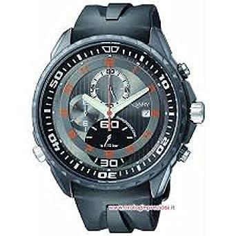 Uhr Vagary by Citizen iA6 – 901 – 60 Quarz (Batterie) Stahl Quandrante grau Armband Gummiarmband '