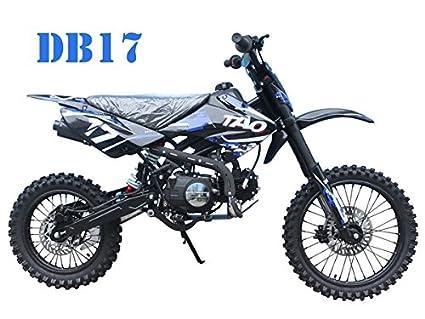 amazon com taotao db17 125cc dirt bike for kids cheap dirt bikes