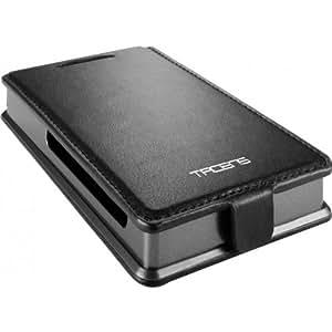 """Tacens Vectrix Lux - Caja externa HD Sata 2.5"""", USB 3.0 + funda piel negra"""