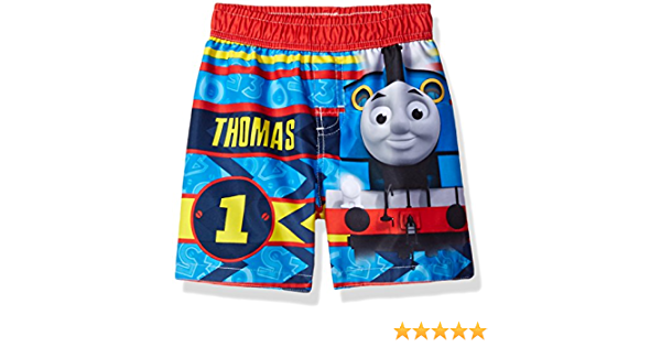 THOMAS THE TRAIN SWIMMING SHORTS TRUNKS SIZE 2T 3T 4T 5T NEW!