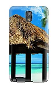 Sanp On Case Cover Protector For Galaxy Note 3 (dominican Republic Beach)