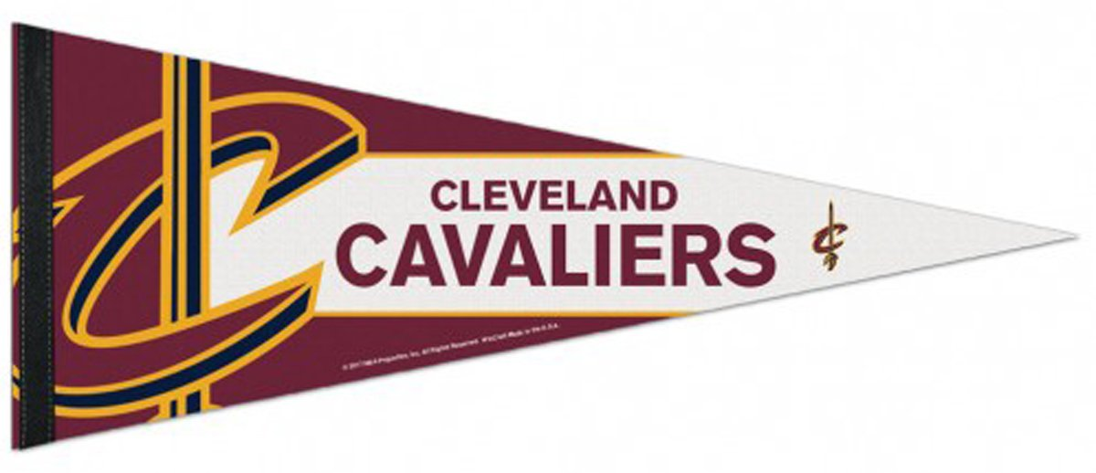 NBA Cleveland Cavaliers Premium Pennant, 12 x 30 Inches