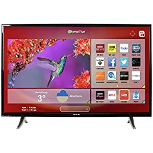 hitachi 32 inch smart led tv dvd combi with freeview electronics. Black Bedroom Furniture Sets. Home Design Ideas