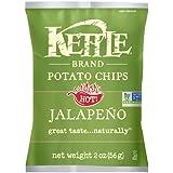 Kettle Brand Potato Chips, Jalapeño, 2-Ounces (Pack of 24)