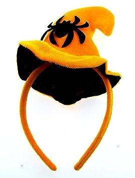 Lovelegis Sombrero de Bruja - Diadema - Halloween - Accesorios ...