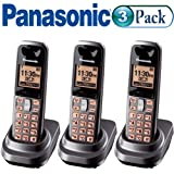 Panasonic KX-TGA106M DECT 6.0 Additional Handset for KX-TG1061M/KX-TG1062M Pack of Three (3)