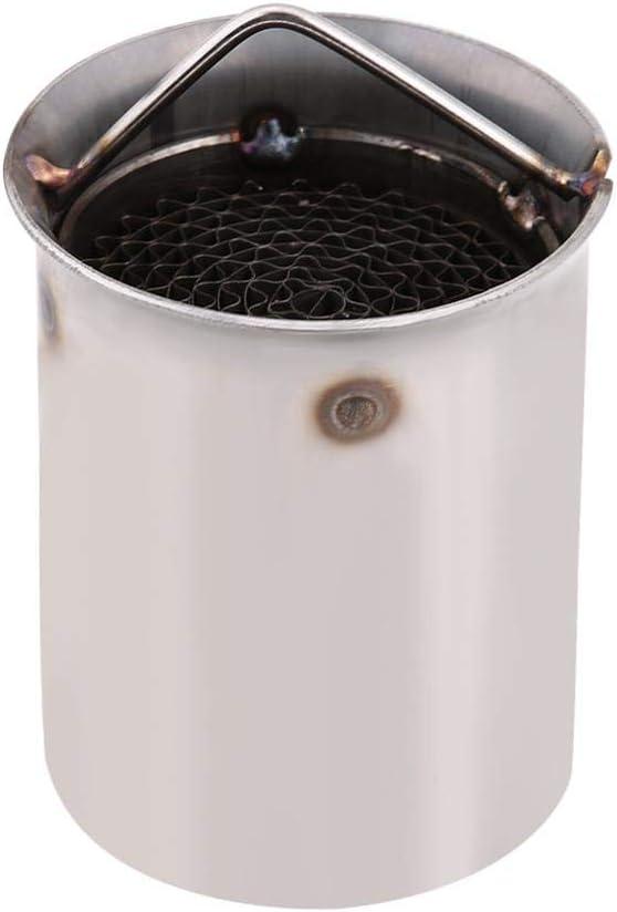 1 Reminnbor Tubo de Escape Silenciador Universal de 51mm Inserci/ón Eliminador de Ruido Killer DB