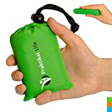 ✮ PRACTICAL Mini blanket is very compact and small to have it around all the time. Just put it to your bag, car or anywhere handy. Blanket comes with a pouch including practical string with a locker. Once you fit the blanket in, pull the lock...