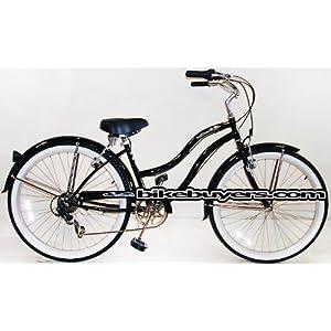 "Micargi 26/"" Pantera Women beach cruiser bicycle bike Purple"