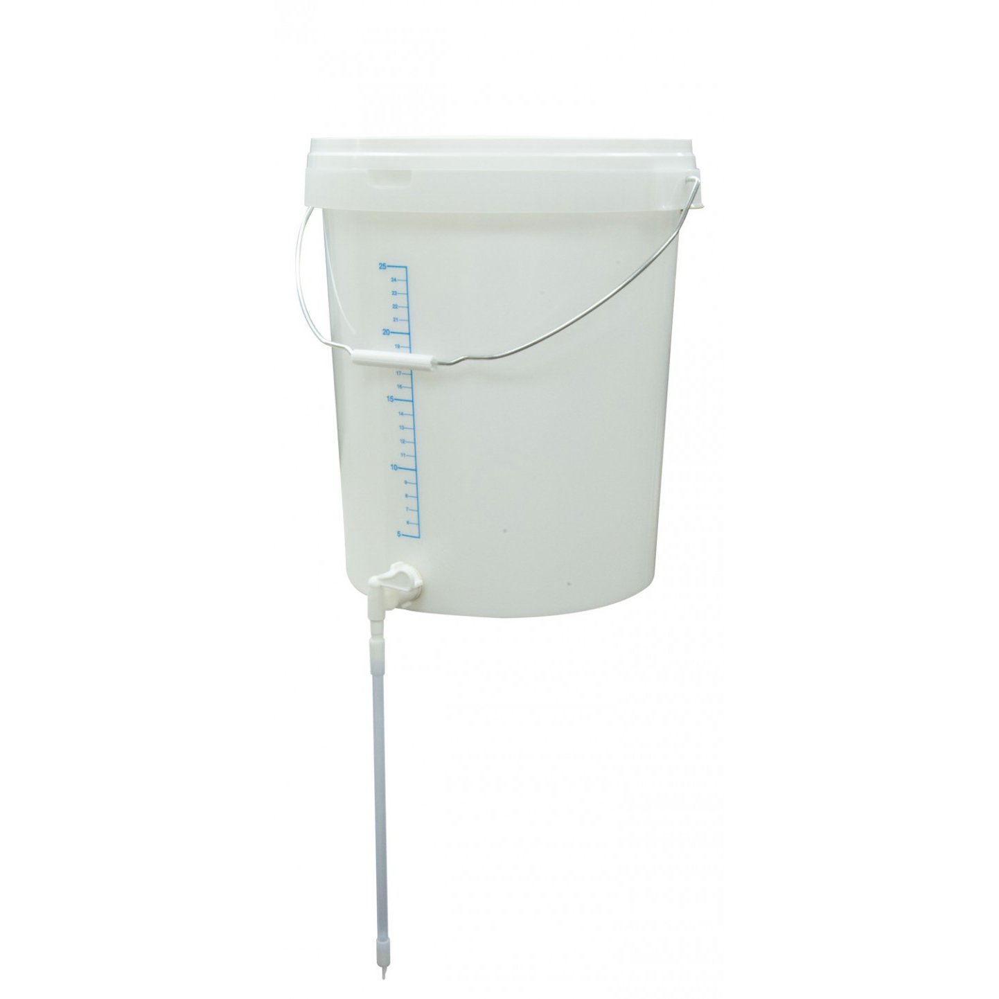 Love Brewing - 30 Litre Bucket with Lid & Tap with Little Bottler