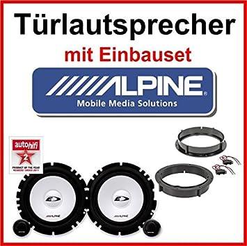 1998-2005 T/üren vorne Crunch DSX 62 Lautsprecher f/ür VW Lupo Bj