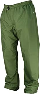 product image for WaterShed 925041-TGR-SML StormShield Double Knee Waterproof GORE-TEX Waist Pant with Drawstring and Ankle Snaps, Small, Forest Green