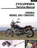 1985-2009 Honda CMX250C Rebel 250 Service Manual