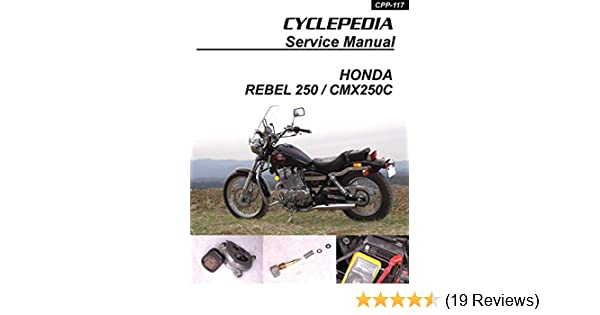 1985-2009 honda cmx250c rebel 250 service manual, cyclepedia press llc,  ebook - amazon com
