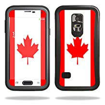 Mightyskins Protective Skin Decal Cover for OtterBox Preserver Samsung Galaxy S5 Case wrap sticker skins Canadian Flag