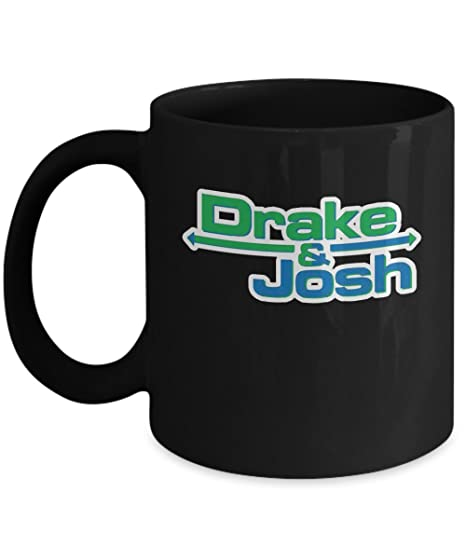 Drake Josh Coffee Mug Cup Black 11oz Funny And Gift Merchandise