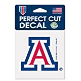 university of arizona auto decal - NCAA University of Arizona 52830012 Perfect Cut Color Decal, 4