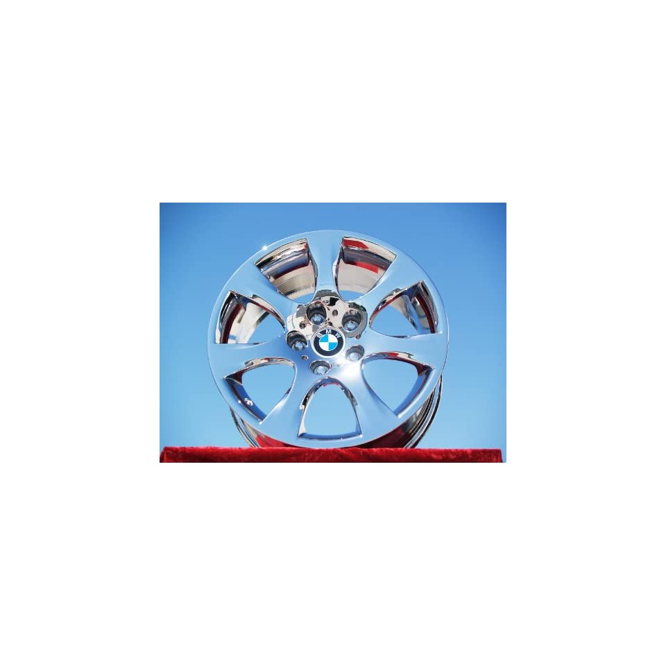 BMW 335iStyle 185 Set of 4 genuine factory 17inch chrome wheels