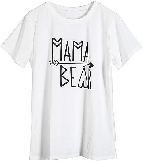 Mama Bear /& Baby Bear Maman et Moi Assortis Ensemble Chemise Body T-Shirt Assorti Familial