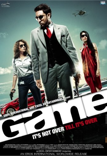 Game (2011) (New Hindi Action Film / Bollywood Movie / Indian Cinema DVD) (Movies On Dvd 2011)
