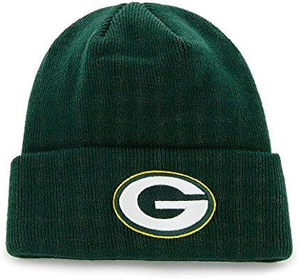 Amazon.com   NFL Beanie Green bay Packers - Black   Sports Fan Beanies    Sports   Outdoors 4cc4a8cb3