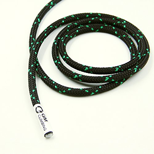 GM CLIMBING 8mm (5/16in) Accessory Cord Rope 19kN Double Braid Pre Cut CE / UIAA