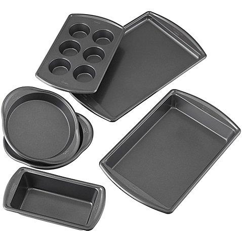 Wilton Advance - Select Nonstick 6-Piece Bakeware Set in Gunmetal (6-Piece Premium Nonstick)