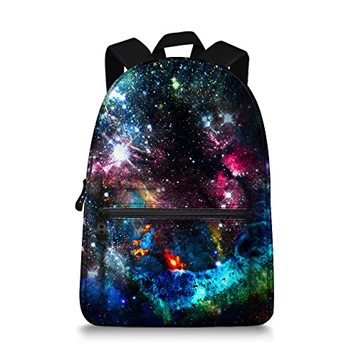 Jeremysport Unisex TrendyMax Galaxy Pattern Grade Backpack for Elementary Kids