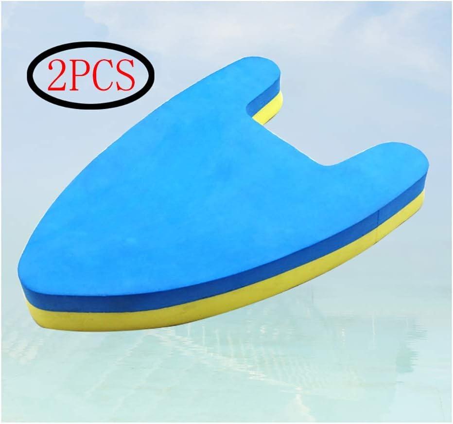 2ピースツートンEVAフローティングボードフォームクッション水泳フローティングボード水アウトドアスポーツ浮力ボードに合うすべてのトレーニングエイド子供と大人 (Color : Light blue)